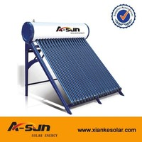 Integrated Industrial Indirect Thermosiphon Solar Water Heater