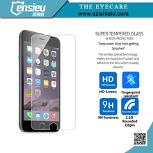 New arriving factory free sample for iphone 6s screen protector round tempered glass screen guard glass