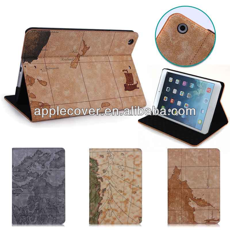 Classical fashion Rotating Leather Case for iPad mini 1/2/3