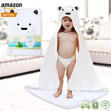 Factory customized available fluffy animal hooded towels for toddlers