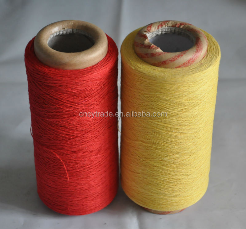 50% cotton 50% polyester good strength weaving yarn price open end yarn