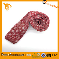 2016 new collection necktie from keer Polyester 1200 Needles Knit tie Andrew Garfield Italy style