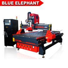 Blue Elephant High Speed Advertising ATC 1325 Woodworking China Cnc Router for sale