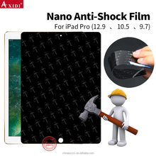 Wholesale High Quality Nano Shield For Ipad Pro Hammer Explosion Proof Anti Broken Screen Protector Film