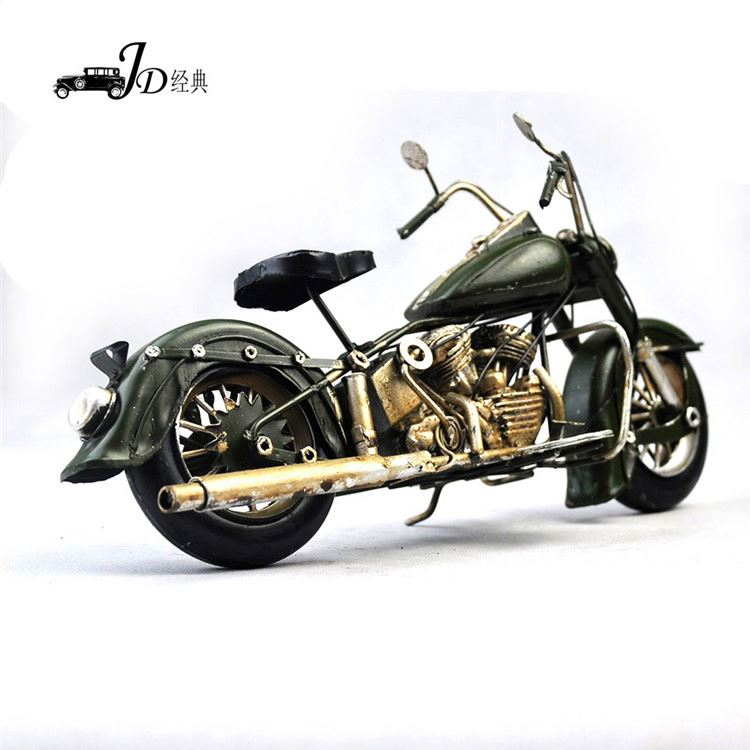 Top fashion unique design motorcycle model for home decoration for wholesale