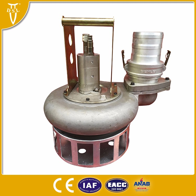 powerful hydraulic submersible trash pump