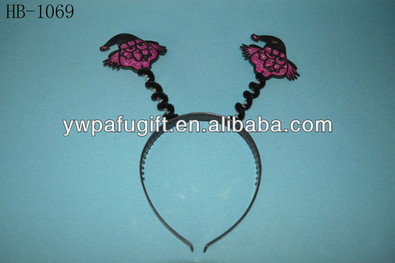 Halloween plastic witch headband for party