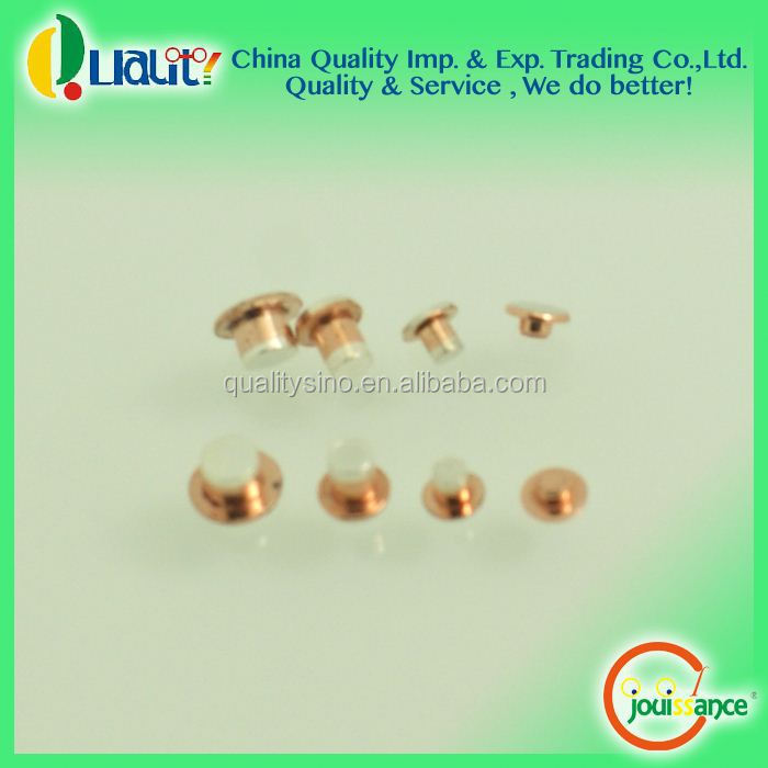 New high quality cheap electrical silver contact for socket/relay/contactor