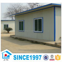 Flat Roof Prefab Villa House Light Gauge Steel House