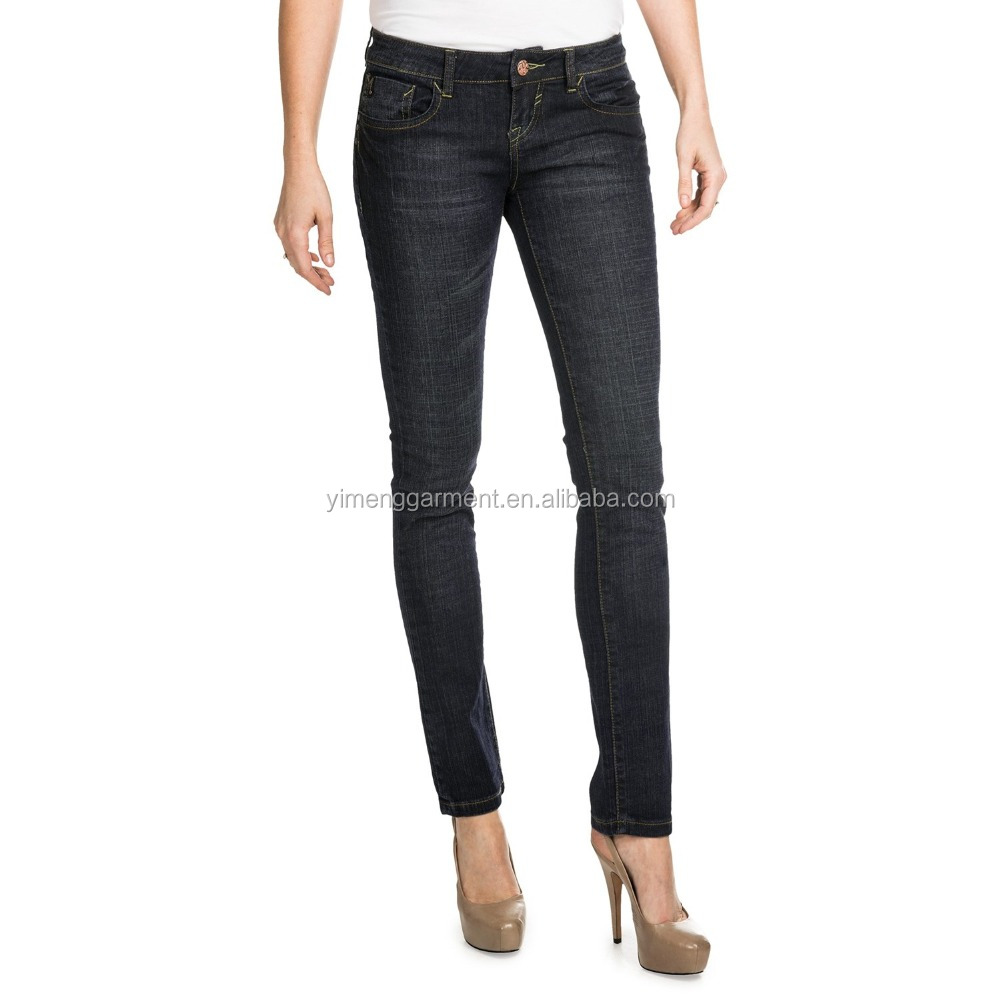 Custom best brand funky women jeans xxl skinny jeans for plus size women