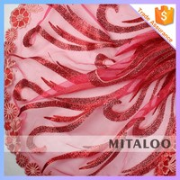 Mitaloo MFL0133 African French Net Lace Red Lace Mermaid Dresses Red Lace Long Dress For Wedding