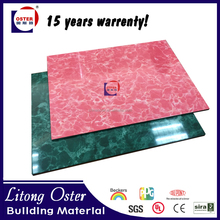 Competitive marble pattern thin stone composite panel aluminum composite panels