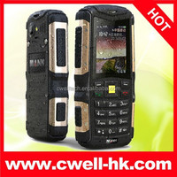 Original MANN ZUG S Outdoor Mini Cell Phone IP 67 Waterproof Dustproof Dual Sim Quad Band 2.0MP Camera Low Price Mobile Phone