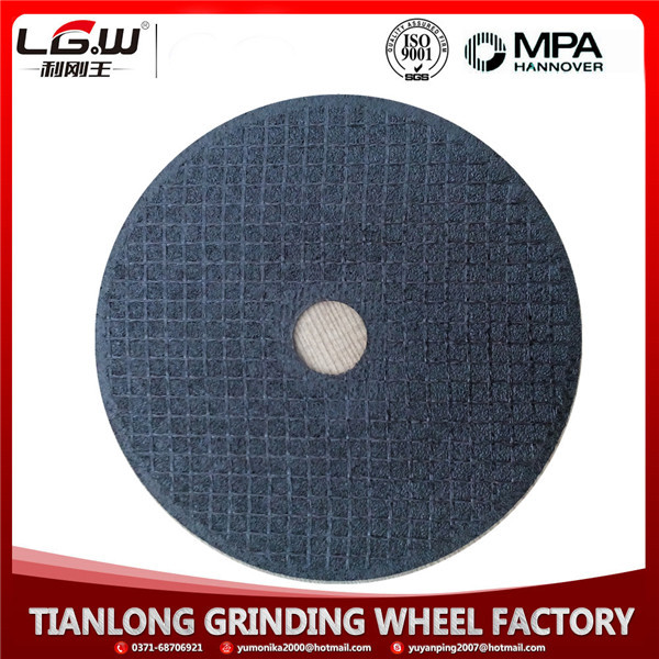 "H420 China wholesale high quality 4 1/2"" abrasive cut off wheel for metal cutting"