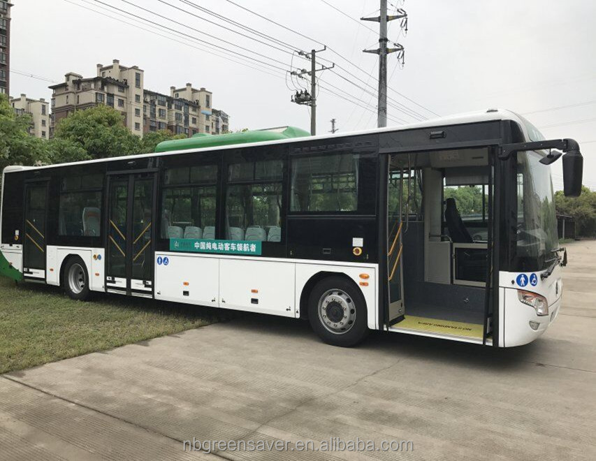 ECE/E4 12 meters Electric city bus with 3 doors and lower floor
