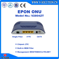 4FE+CATV EPON ONU 1 RF Output ONU with Built-in WDM Filter Compatible with Huawei/ZTE/Fiberhome OLT