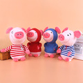 Factory Direct Wholesale Wearing Coat Plush Pig Stuffed Toy