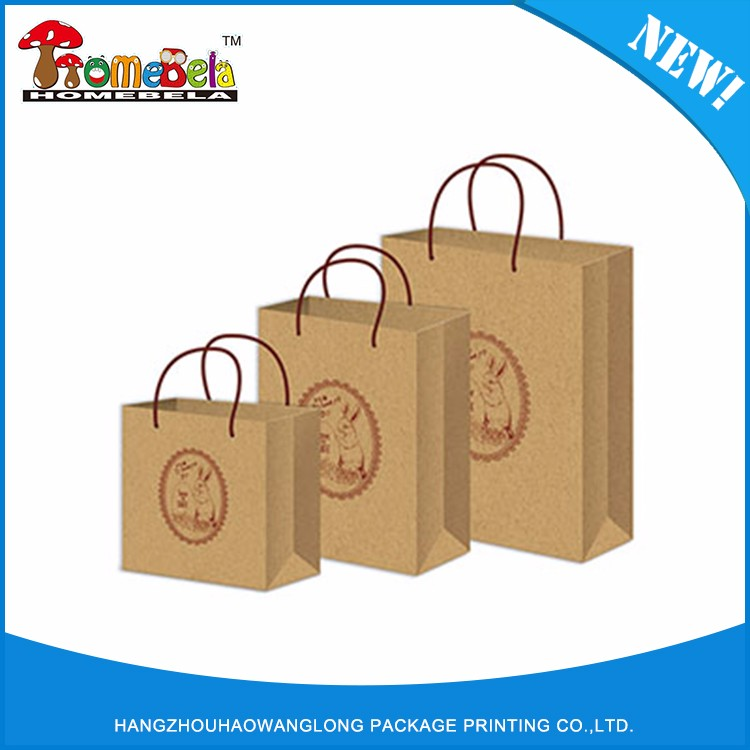 Cheap hot sale top quality kraft paper bag for rice