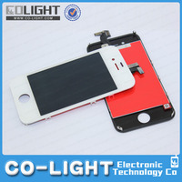 mobile phone spare parts for iphone 4s lcd, for iphone 4s lcd digitizer accept paypal