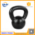 Weight Lifting Black China Cast iron painted kettlebell Engraved