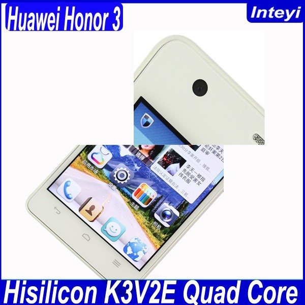 ORIGINAL HUAWEI Honor 3 Outdoor IP57 4.7 Inch Gorilla Glass Screen Android 4.2 Quad Core 2GB RAM OTG SmartPhone