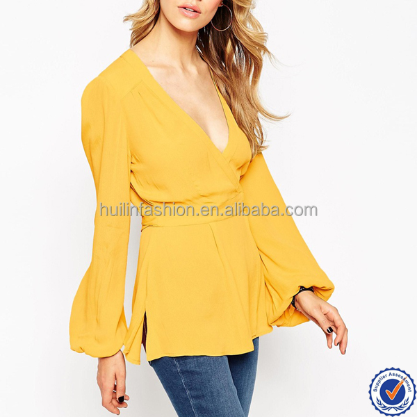 indian clothing wholesale womens clothing summer 2016 new design viscose ladies blouse