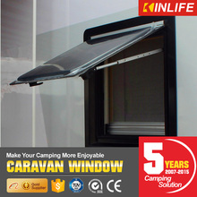 high quality caravan side hinged window