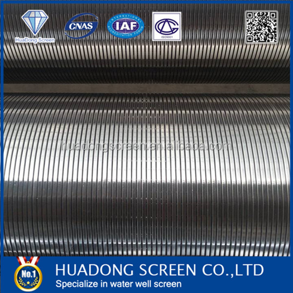 Precise slot openings custom-made welded wire mesh screen(manufacture)