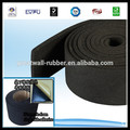 Black red green color 10mm 20mm 30mm 50 thickness 1m width 1m length piece high quality EPDM skirt rubber