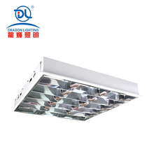 Soft Luminosity High Quality Hospital using dustyproof Led Grille light / led grille lamp
