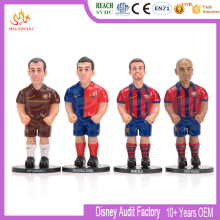 custom small football figures plastic football player action figure