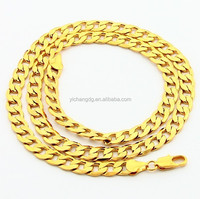 Stainless Steel Type 24k Gold Chain Wholesale stainless Steel Curb Necklace Chain
