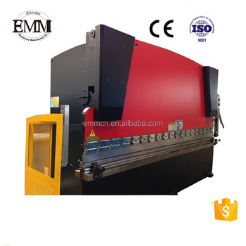 EMM CHINA WC67Y-63*1600 E21 nc hydraulic press brake tooling machine