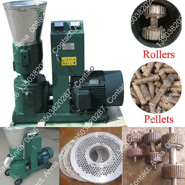 Peanut Shell/Rice Husk/Wood Dust/Alfalfa/Wheat Bran Feed Pellet Press Mill