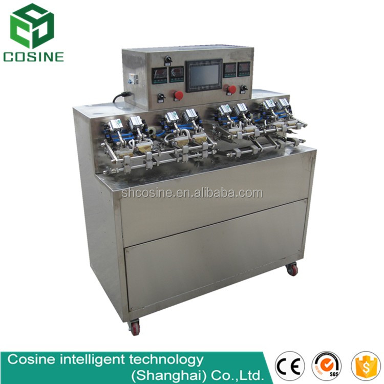 Pre-made pouch filling and sealing machine for juice/Japanese tofu