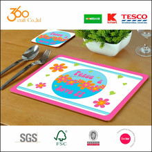 China direct manufacturer paper laminated pp table mat