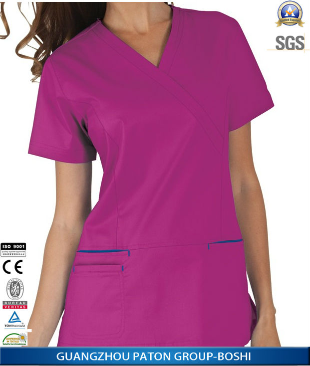 Bulk Fashionable Nurse Uniform Designs ,Hospital Staff Medical Uniform Design NU-08