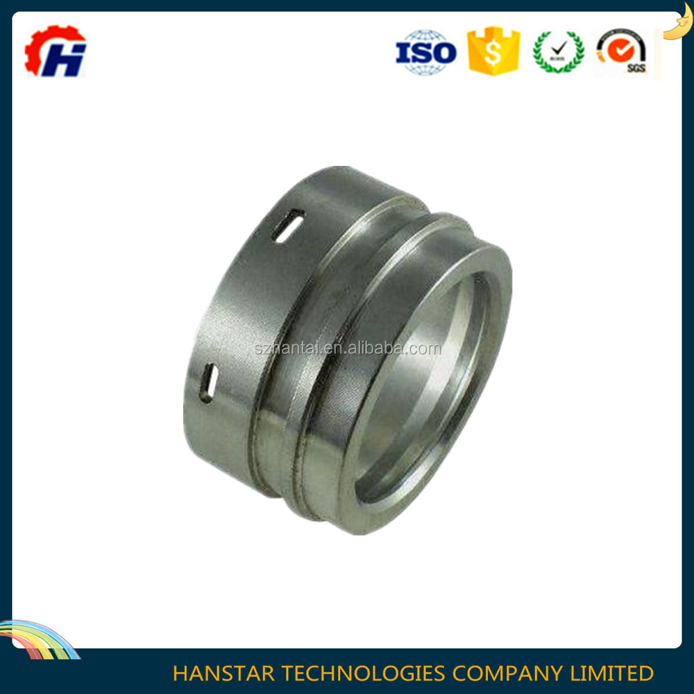 Hot sale customized precision steel CNC turning and machining nut cover
