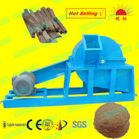 mobile type wood charcoal crusher with cyclone on sales with high performance