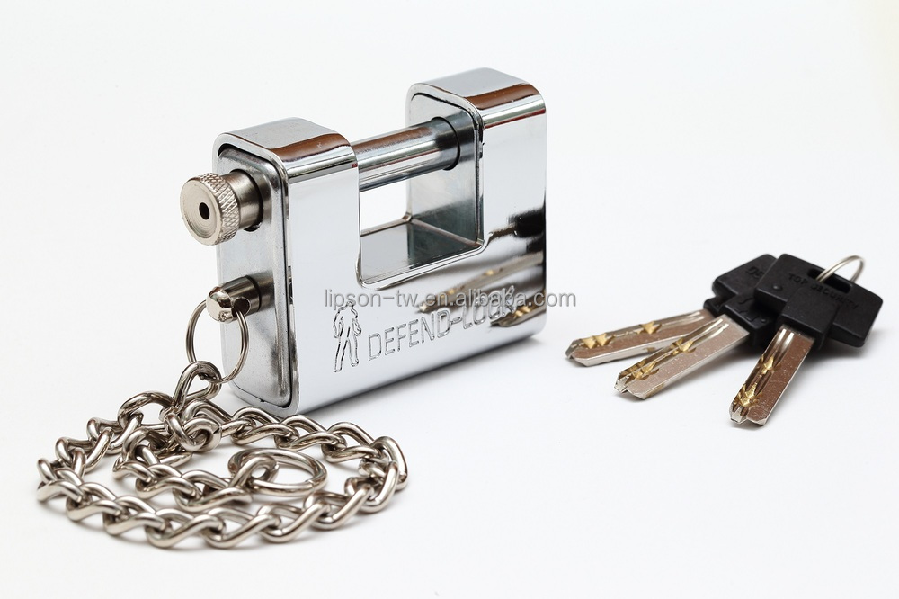 heavy type kaba key with steel chain amour plated