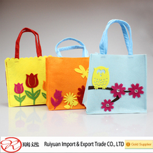Quanlity assurance new fashion felt easter gifts bag through all certification