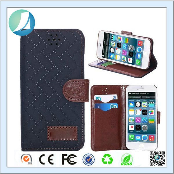 High quality retro leather smart cover case for iphone 5