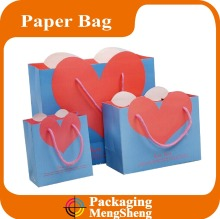 wedding dress packaging bag, raw materials of paper bag, women bag for shopping packaging
