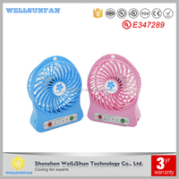 5V Strong wind outdoor mini handheld usb fan rechargeable
