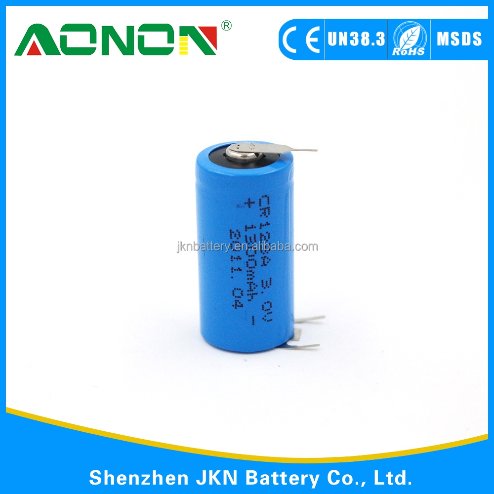 CR123A 3.0v 1300mah lithium battery CR123A 3.7V Rechargeable Lithium Ion Battery Manufacturers