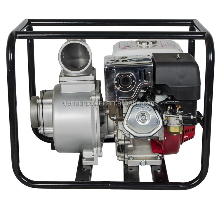2 inch mini 5.5hp gasoline engine water pump wp20