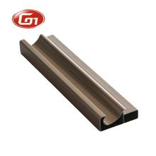 Extruded Aluminum Door Frame Cabinet Door Alloy Profile