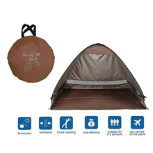 Popup Beach Tent Portable Carry Folding Travel Camping Party Gazebo Canopy