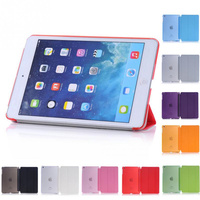 Wake Up Fold Stand Leather Case Smart Cover Protector For iPad Mini 1 2 3