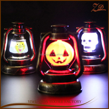 Best selling 2017 LED ghosts glowing pumpkin lights halloween USE